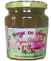 Confiture de Figue à l'Ananas en Grand Pot