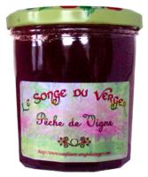 Confiture de Pêche de vigne en Grand Pot