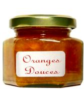 Confiture d'Orange Douce en pot hexagonal