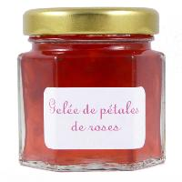 Mini pot de Gelée de Pétales de Rose