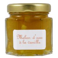 Mini pot de Confiture de Melon d'Eau à la vanille