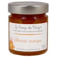 Confiture d'Abricot à la Mangue en Grand Pot
