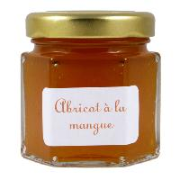 Mini pot de Confiture d'Abricot Mangue
