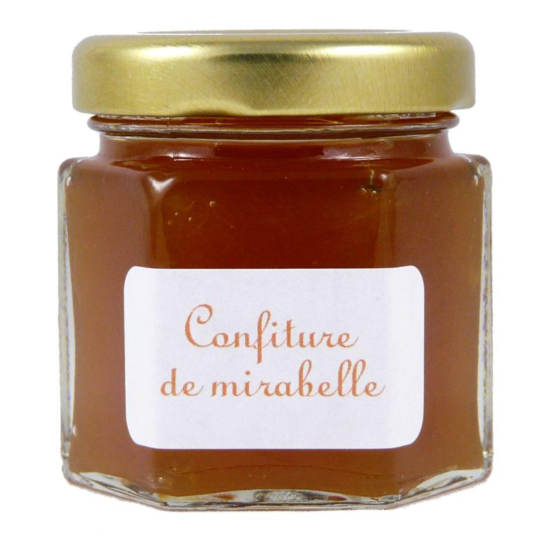 mini pot 50 g confiture de mirabelle le songe du verger. Black Bedroom Furniture Sets. Home Design Ideas